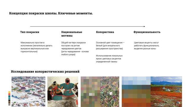 Изображение 1 - проект покраски новой школы