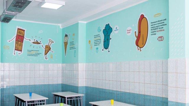 Изображение 4 - дизайн интерьера школьной столовой