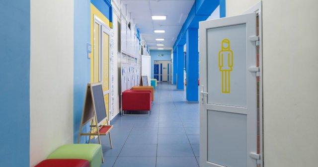 Изображение 1 - дизайн начальной школы.