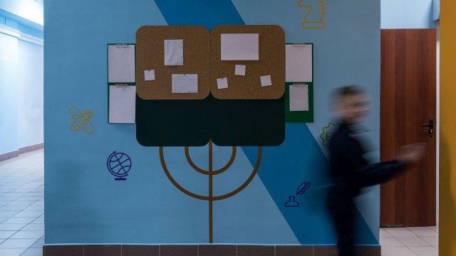 Изображение 22 - оформление 1-го этажа  СОШ №17