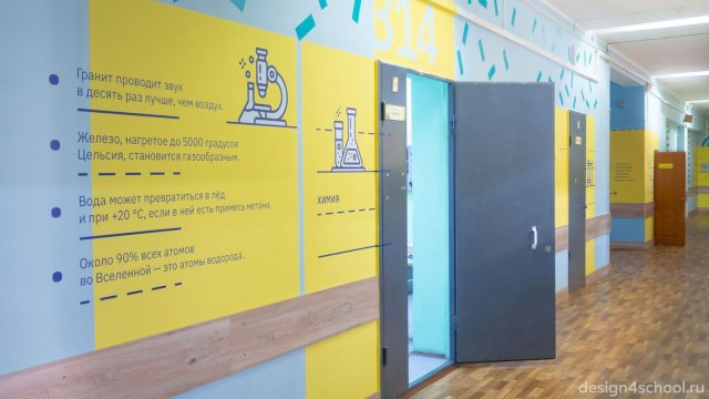 Изображение 15 - Оформление коридоров школы