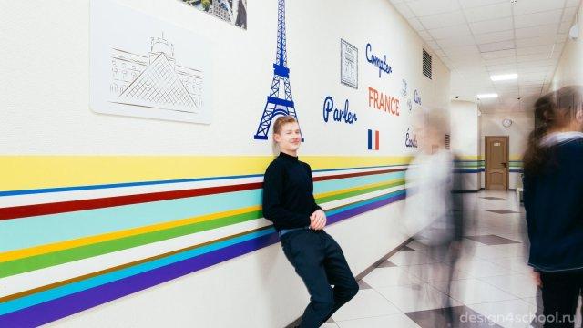 Изображение 2 - оформление Ломоносовской школы-пансиона