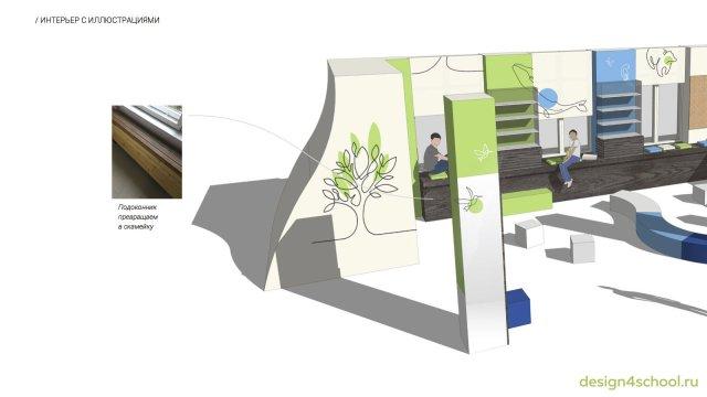 Изображение 5 - проект дизайна входной группы