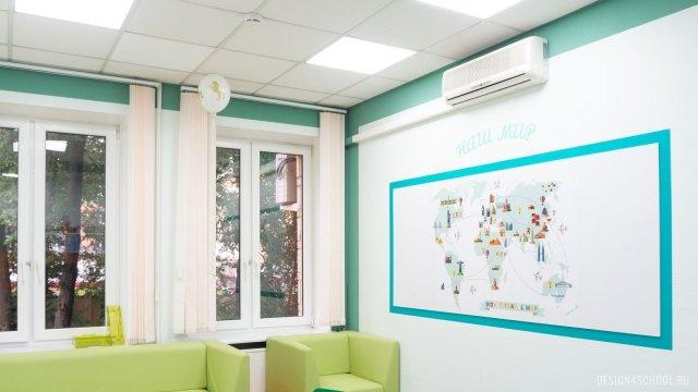 Изображение 4 - частная школа Концепт – дизайн стен