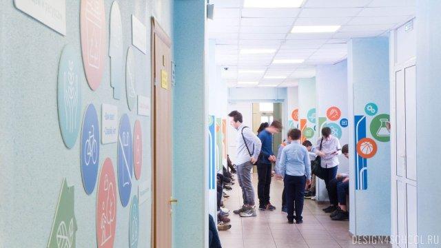 Изображение 16 - дизайн стен школьного фойе, коридоров и рекреации