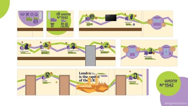 Изображение 25 - оформление холла школы, гардероб и стенды
