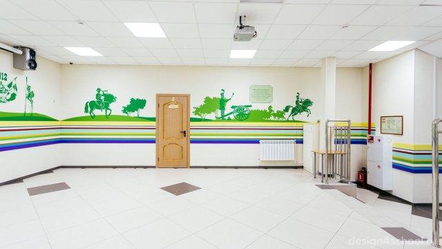 Изображение 7 - оформление Ломоносовской школы-пансиона