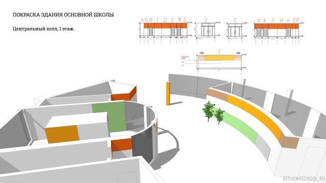 Изображение 12 - проект покраски новой школы