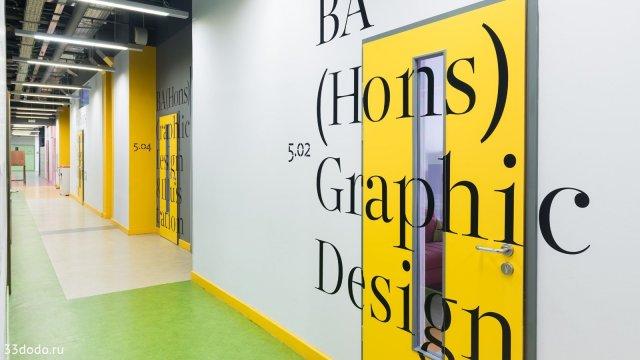 Изображение 3 - дизайн навигации стен в Британской высшей школе дизайна