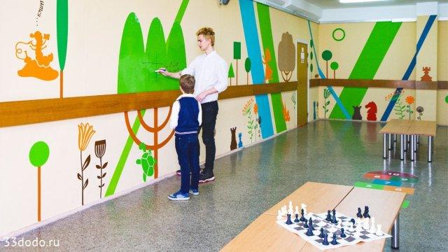 Изображение 14 - шахматное оформление школы