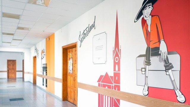 Изображение 1 - оформление коридора школы