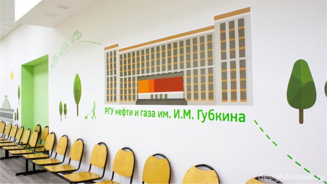 Изображение 4 - оформление гардероба и актового зала начальной школы